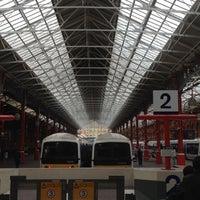 Photo taken at London Marylebone Railway Station (MYB) by Christoph M. on 8/6/2012