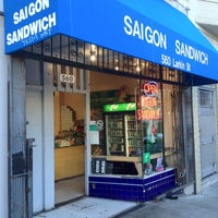 Photo taken at Saigon Sandwich by hearts_rush や. on 6/10/2012