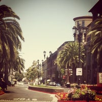 Photo taken at Santana Row by Catherine L. on 7/8/2012