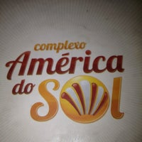 Photo taken at Complexo America do Sol by Stuart C. on 5/18/2012