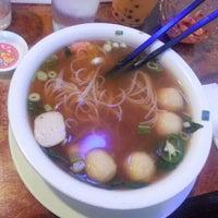 Photo taken at Pho & Cafe Anh Hong by Vanaro C. on 8/23/2012