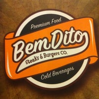 Photo taken at BemDito Steaks & Burgers by Gustavo B. on 11/19/2011