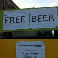 Photo taken at Harriet Brewing by Erica M. on 8/19/2011