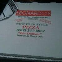 Photo taken at Leonardo's Pizza by Scott M. on 3/3/2011