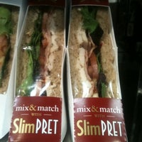 Photo taken at Pret A Manger by Wesley C. on 2/15/2012