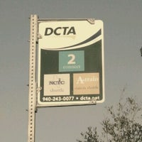Photo taken at DCTA MedPark Station (A-train) by Cj P. on 3/1/2012