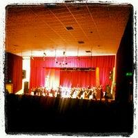 Photo taken at Teatro Municipal de San Lorenzo by Guille P. on 4/27/2012