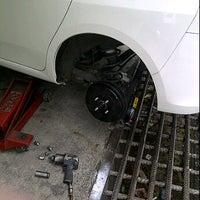 Photo taken at Goodwin Bridgestone Auto Service by Juliana J. on 1/14/2012