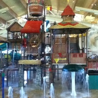 Photo taken at Great Wolf Lodge by Hallie R. on 10/15/2011