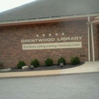 Photo taken at Brentwood Library by Sandra R. on 9/28/2011