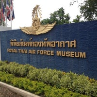 Photo taken at Royal Thai Air Force Museum by BigpinG ™. on 5/16/2012