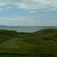 Photo taken at Ballybunion Golf Club by Cearúilín N. on 12/1/2011