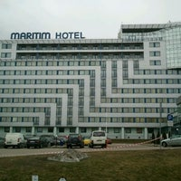 Photo taken at Bellevue Park Hotel Riga by Janis V. on 3/20/2012