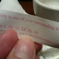 Photo taken at Fortune Cookies by Yu H. on 1/12/2012