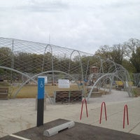 Photo taken at Woodland Discovery Playground @ Shelby Farms by Echo O. on 3/21/2012