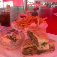 Photo taken at Pershing Square Café by Kristen H. on 7/3/2012