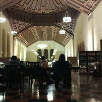 Photo taken at UCLA Powell Library by Erineo G. on 12/1/2011