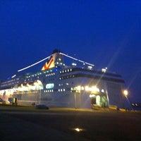 Photo taken at M/S ROMANTIKA | Tallink Ferry by Raitis N. on 12/16/2011