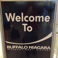 Photo taken at Buffalo Niagara International Airport (BUF) by Andrey K. on 8/12/2012