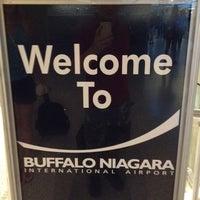 Photo taken at Buffalo Niagara International Airport (BUF) by Andrey K. on 8/12/2012