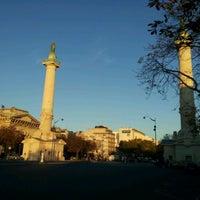 Photo taken at Place de la Nation by Damien R. on 10/14/2011