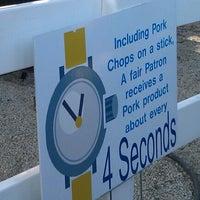 Photo taken at Iowa Pork Tent by David R. on 8/11/2011