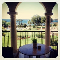 Photo taken at The St. Regis Mardavall Mallorca Resort by Ahmed D. on 5/22/2012