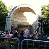 Photo taken at Naumburg Bandshell by Ross B. on 6/27/2012