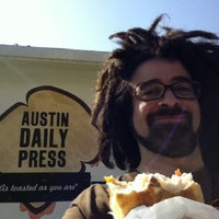 Photo taken at Austin Daily Press by Adam Duritz on 3/17/2011