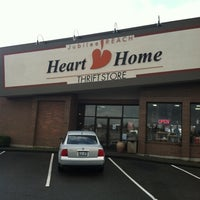 Photo taken at Heart Home Thrift Store by Casey C. on 3/16/2012
