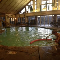 Photo taken at Brushey Creek Clubhouse - Big Cedar Lodge by Melissa A. on 1/23/2012