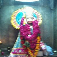 Photo taken at Sri hanuman temple by Himanshu S. on 4/17/2012