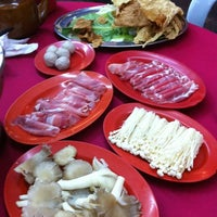 Photo taken at Ketam Steamboat Seafood by Mandy L. on 6/9/2011
