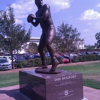Photo taken at Gaylord Family Oklahoma Memorial Stadium by Brian C. on 9/3/2011