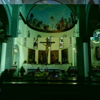 Photo taken at Iglesia Santa Eduvigis by Igvir R. on 1/8/2012