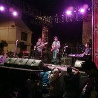 Photo taken at Ngayogjazz 2011 by nezz n. on 11/12/2011