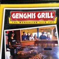 Photo taken at Genghis Grill by Clyde B. on 8/3/2011