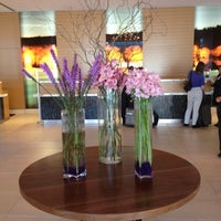 Photo taken at JW Marriott Lobby Lounge by Jenny N. on 5/23/2012
