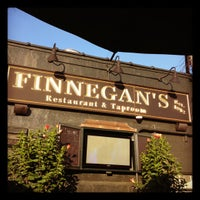 Photo taken at Finnegan's Restaurant & Taproom by Ryan on 6/15/2012