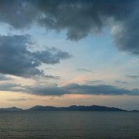 Photo taken at Maenamburi Resort by Kris P. on 6/14/2012