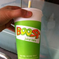 Photo taken at Boost Juice Bars by Muhammad Hafiz H. on 5/6/2012