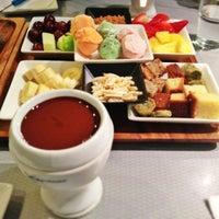 Photo taken at Capstone Tea & Fondue by Tricia on 3/12/2012