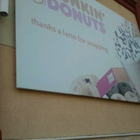 Photo taken at Dunkin Donuts by Tabitha on 5/25/2012