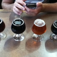 Photo taken at Willoughby Brewing Company by Nicole F. on 4/21/2012