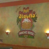 Photo taken at Hot Stacks Pancake House by Raul J. on 4/9/2012