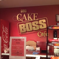 Photo taken at TLC Cake Boss Cafe by Rhondaa R. on 7/24/2012