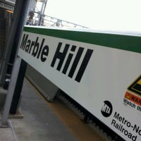 Photo taken at Metro North - Marble Hill Train Station by Emmanuel D S. on 7/2/2012