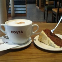 Photo taken at Costa Coffee by Chris M. on 3/22/2012