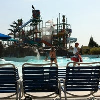 Photo taken at Hawaiian Falls by Joe S. on 9/1/2012