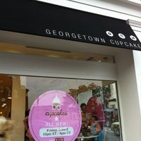 Photo taken at Georgetown Cupcake by Michael G. on 7/8/2012